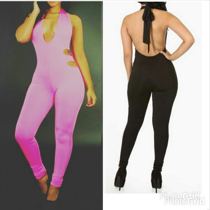 ALTER BACK PINK PANTHER JUMPSUIT