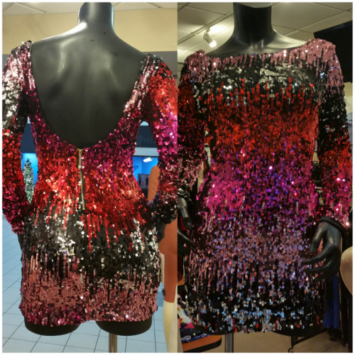 Mini sequin multicolor Dress