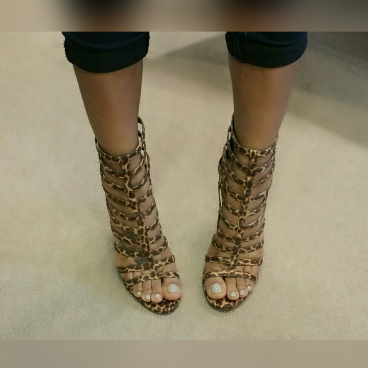 Catty LEOPARD SANDALS