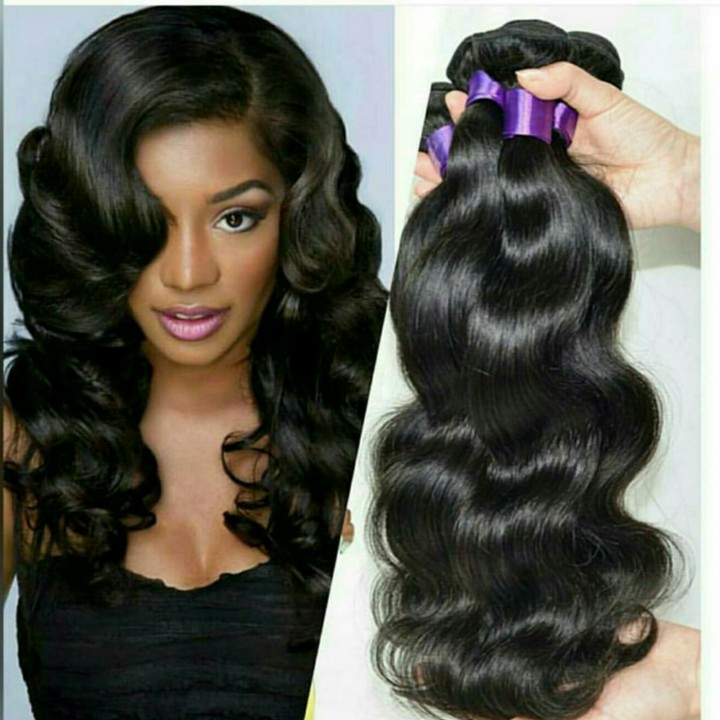 Brazilian and Peruvian hair