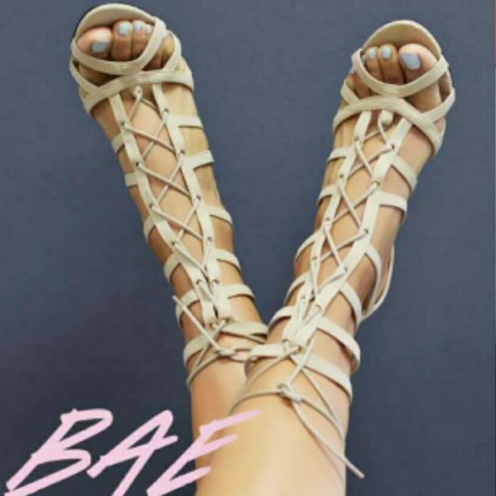 ATHENA BAE STRAPPY OPEN TOE SHOE