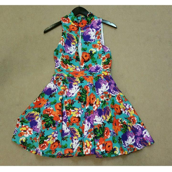 skater floral dress