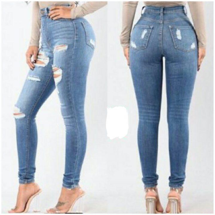 Premium quality High waist Jeans 4299