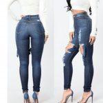 Premium quality High waist Jeans 4284