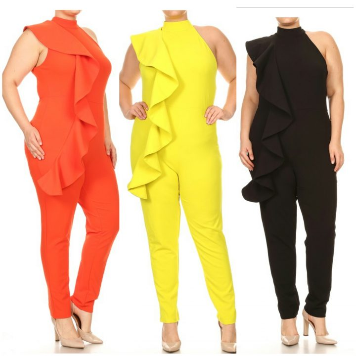 STYLISH RUNWAY PLUS JUMPSUIT