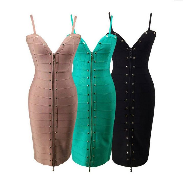 QUALITY BODYCON BANDAGE DRESS